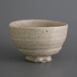 Cohiki Nova Tea Bowl II handcrafted strand dots uneven studio cúze