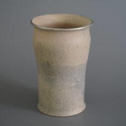 The Dusk Vessel Handmade Vase Dots pattern studio cuze